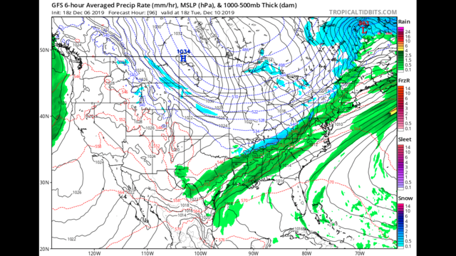 Friday Night Blog:  Looking at our next storm systems