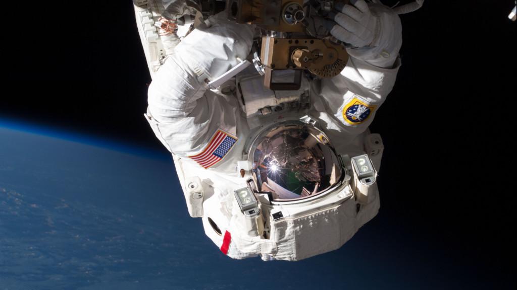 Space Walk image of astronaut