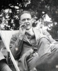 Photo of T.S. Eliot, 1923