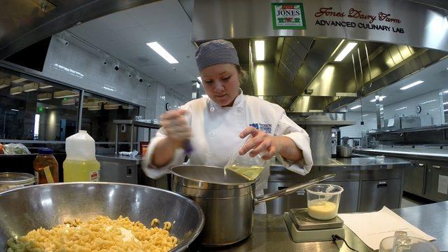 Madison College kitchen visit serves children recipe for life