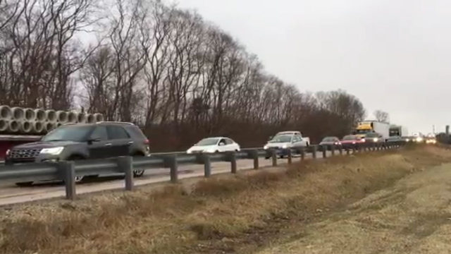 Northbound I-39/90 reopened after fuel spill