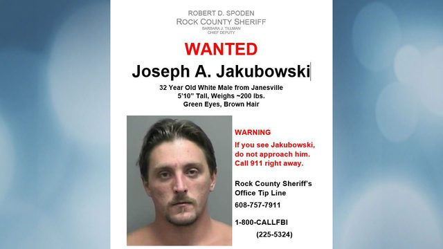 Jakubowski still on the run 6 days after manhunt begins