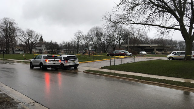 Police: Man shot in park before crashing car into pole