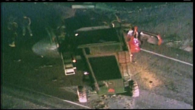 Farming combine, SUV collision resulting in three fatalities