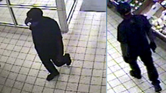FBI: Robber hides inside Aldi stores at closing, emerges with gun
