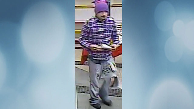 Police seek to ID gas station robber who held gun to 14-year-old's head