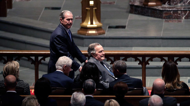 Funeral services set to honor former President George H.W. Bush