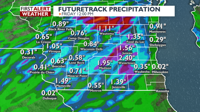 More heavy rain possible to send summer off