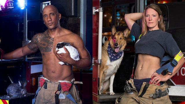 Firefighters turn up the heat, pets bring cuteness in 2020 calendar