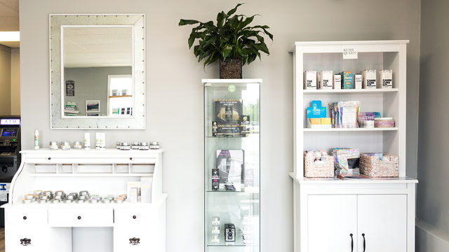 Verona shop provides hemp-derived products in a boutique setting