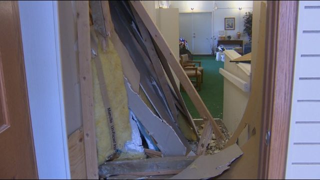Local business picking up pieces after car crashes into building for second time this year