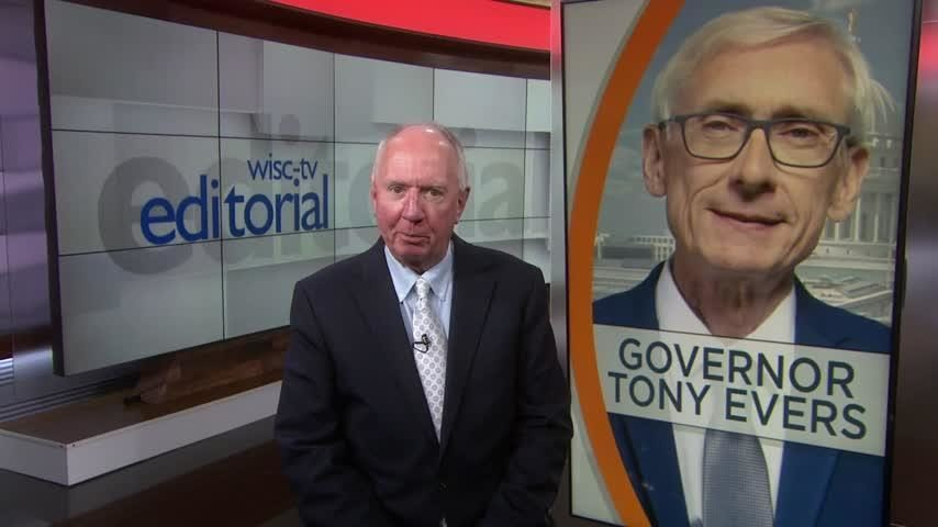 Gov. Tony Evers shows how he intends to govern