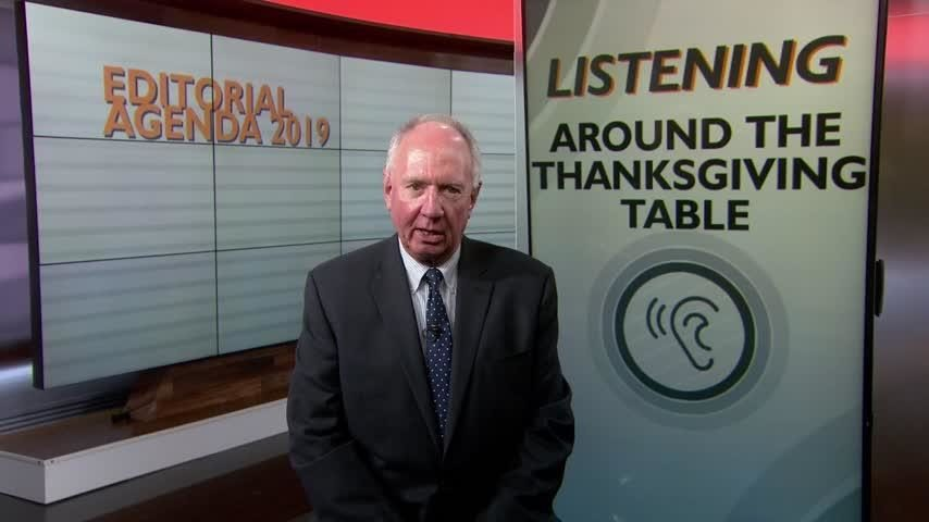 Editorial: How listening at the table can make for a more pleasant Thanksgiving