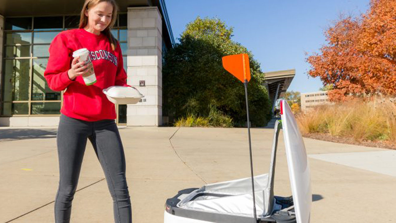 UW-Madison housing launches robot delivery service