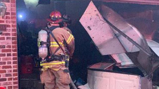 Madison fire officials investigate Thanksgiving eve garage fire