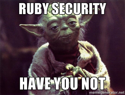 Yoda on Ruby security