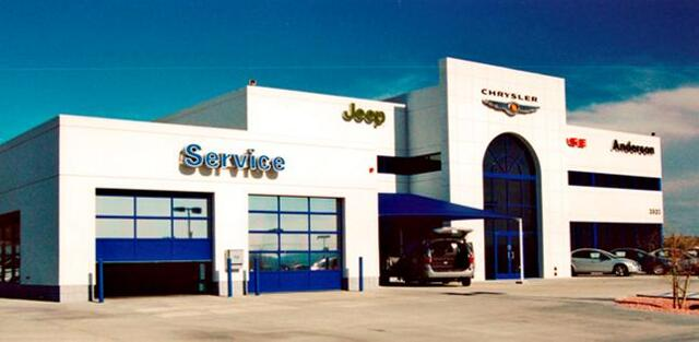 ANDERSON CHRYSLER - Lake Havasu, AZ. A 25,595 sq ft automobile dealership completed using the design-build method of project delivery.