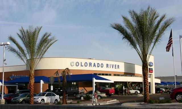 COLORADO RIVER FORD - Bullhead City, AZ. A 29,576 sq ft automobile dealership and service center.