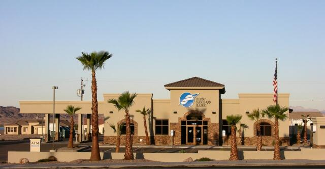 FIRST SAVINGS BANK- Lake Havasu City, AZ. A 6,445 sq ft full-service banking facility.