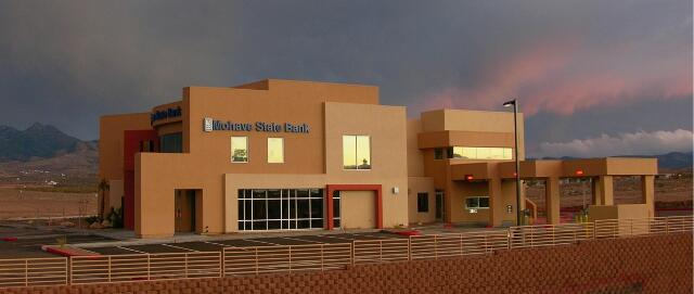 MOHAVE STATE BANK - Kingman, AZ. A 20,980 sq ft two story full-service bank with professional office lease space.