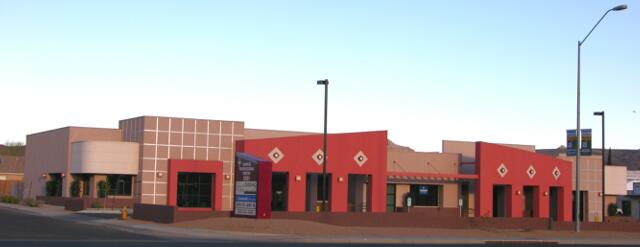 SUNRISE PROFESSIONAL CENTER - Kingman, AZ. A 10,932 sq ft building containing six professional office suites.