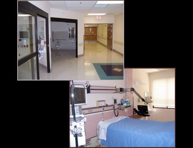 HAVASU REGIONAL MEDICAL OBSTETRICS & IINTENSIVE CARE INFRASTRUCTURE - Lake Havasu, AZ. Remodel of 9,000 sq ft of the existing intensive care unit to add more beds and site improvements for a new 10,000 sq ft obstetrics department.