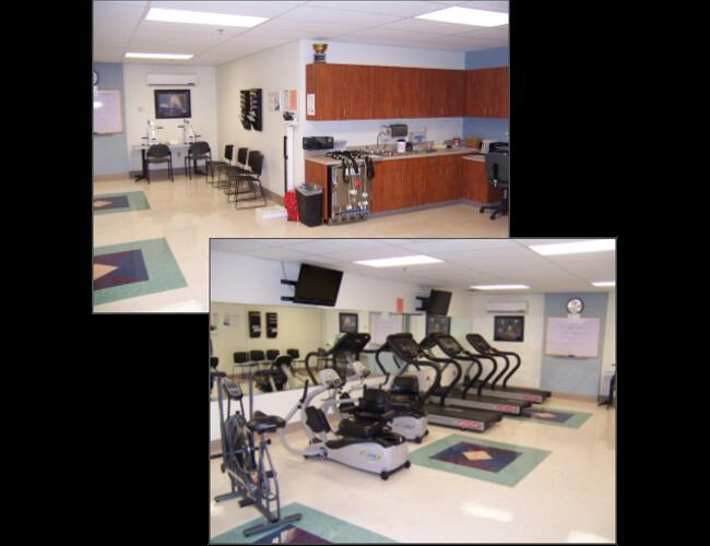 HAVASU REGIONAL MEDICAL PEDIATRICS & CARDIOVASCULAR REHABILITION - Lake Havasu City, AZ. Remodel of 7,140 sq ft to accommodate eight pediatric beds and a cardiovascular rehabilitation department.