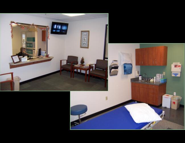 HAVASU REGIONAL MEDICAL WOUND CARE - Lake Havasu City, AZ. A 300 sq ft build-out for a new three chamber hyperbaric wound care center.