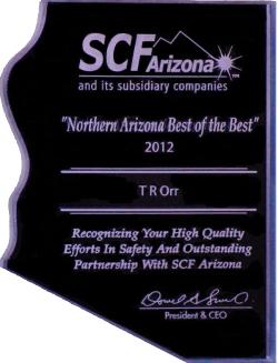 2012 SCF AZ