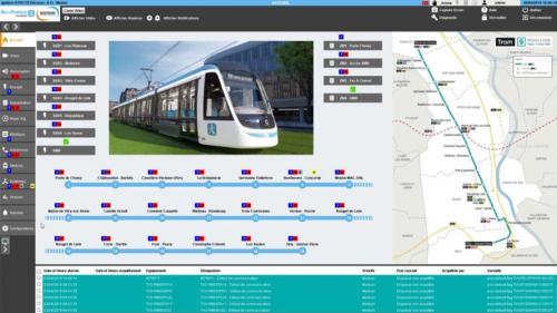 Technologie SCADA Intellegente pour le transport