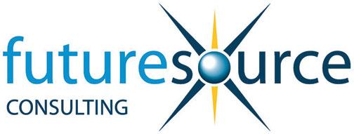 Logo that says, Future Source