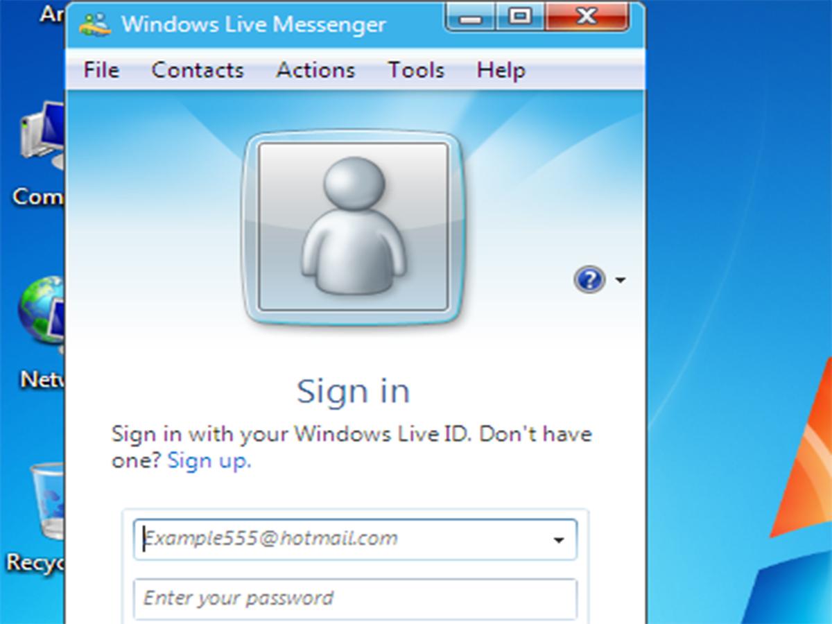 Messenger sign in windows live Get Messenger
