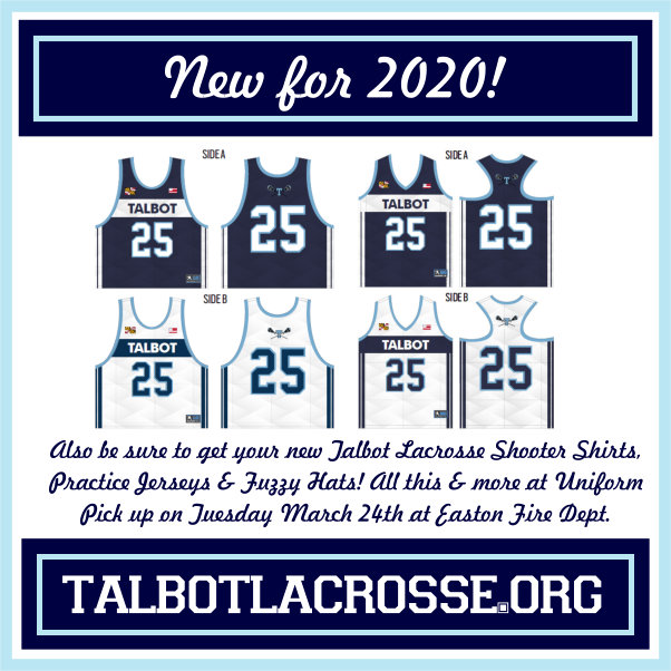New Uniforms for 2020!
