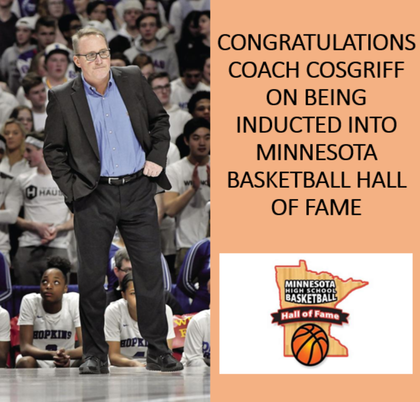 Coach Cos is a MN High School Hall of Famer!