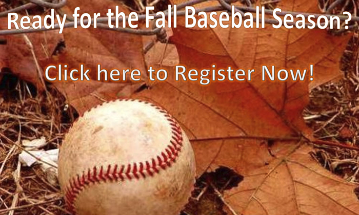 Register for Fall Ball