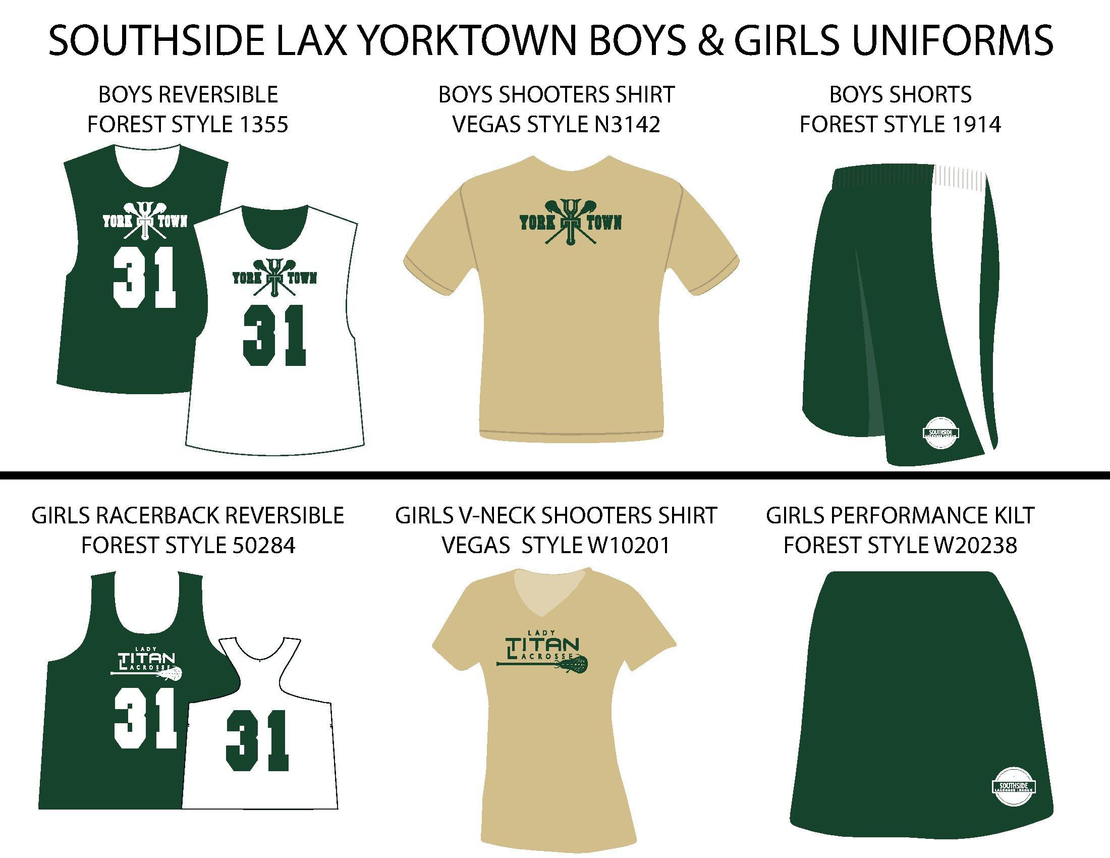 Southside Lacrosse Norfolk Uniform