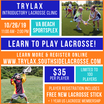 TryLax Introductory Lacrosse Clinic - 10/26/19