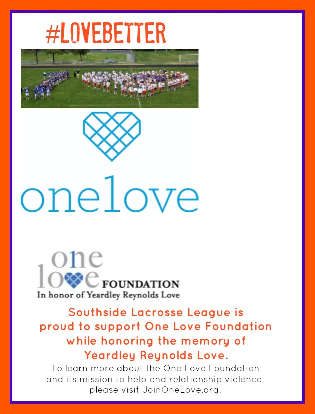 Southside Lacrosse League Supports LAX for Love