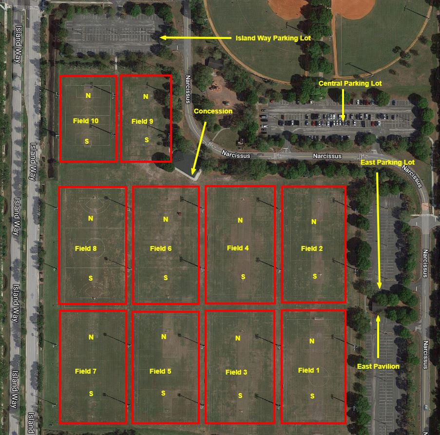 Map Of Jupiter Florida.Directions To Jupiter Fields Jupiter Tequesta Athletic Association