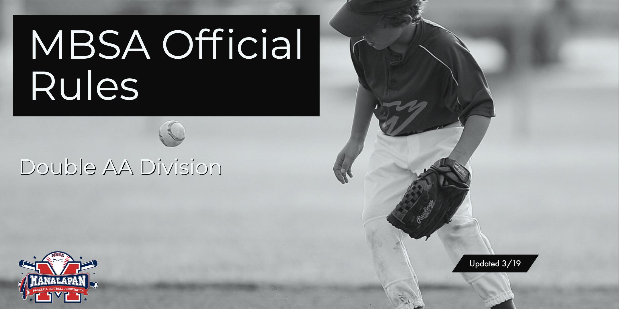 Double AA Ball | Manalapan Baseball and Softball Association