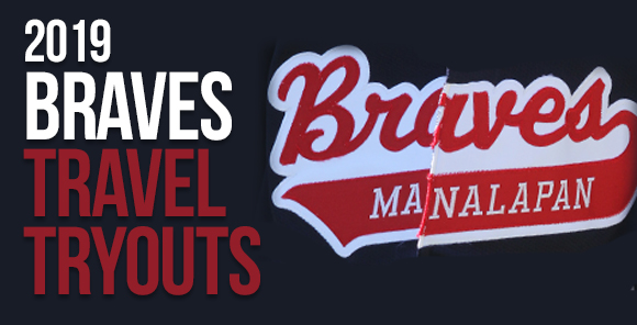 2018 Manalapan Braves Travel Tryouts