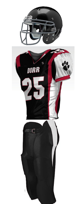 New for 2016, Dorr Rocket Wildcats Uniforms!