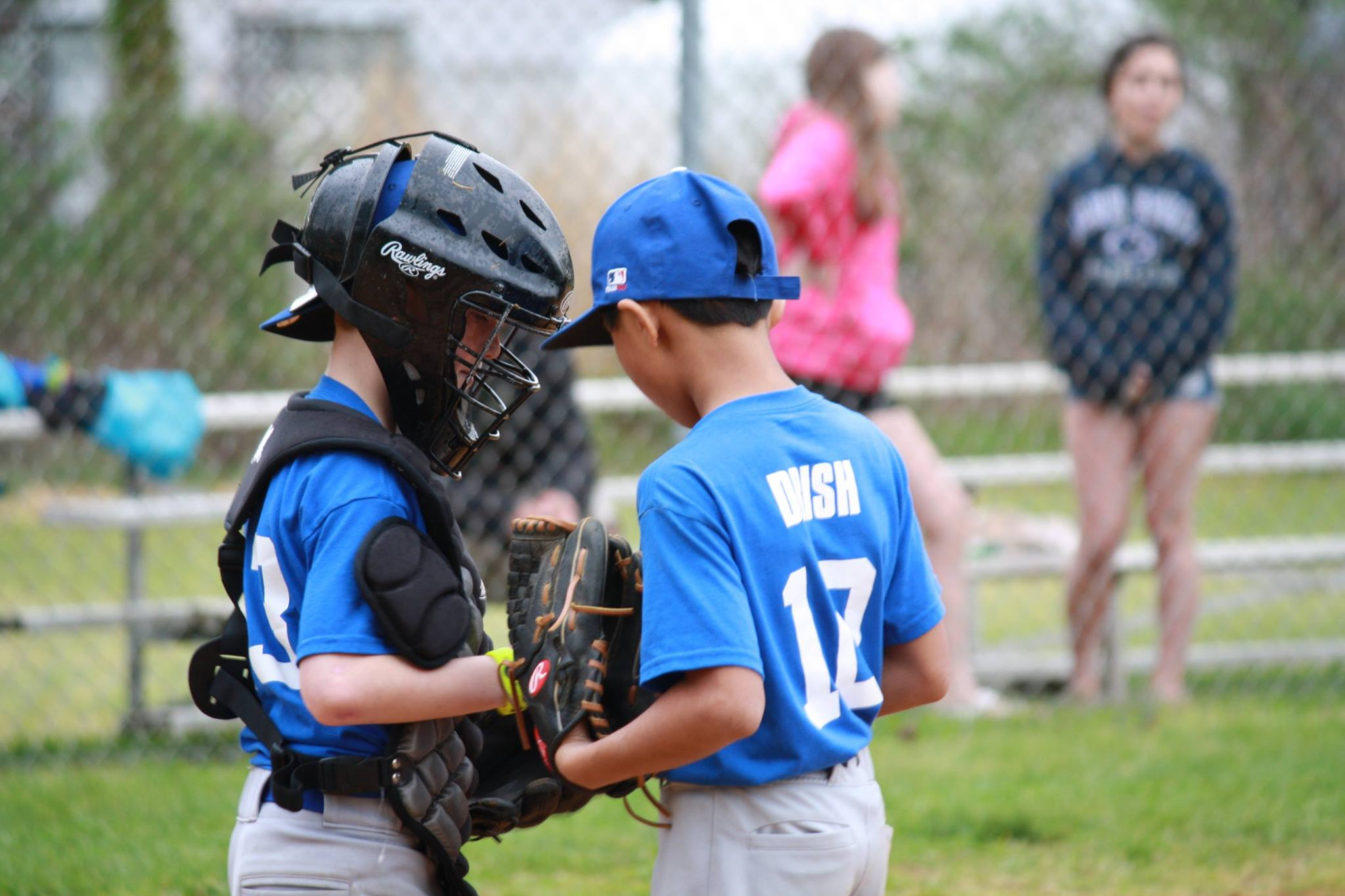 Pitcher and catcher conference