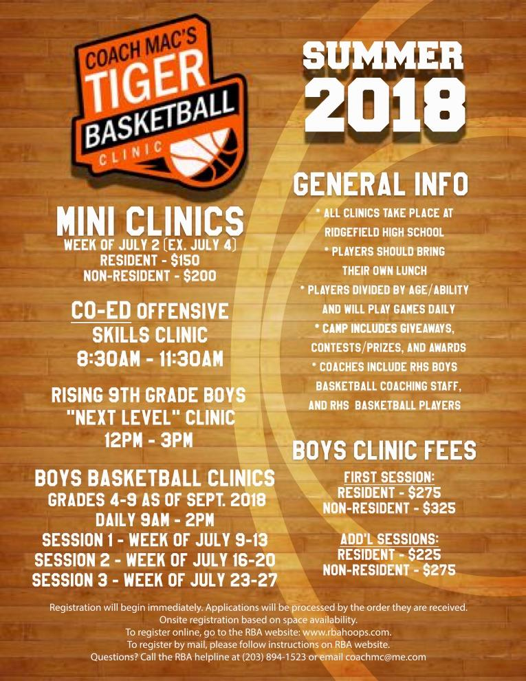 07d2c0791f To Register for Coach Mac's Summer Clinics, CLICK HERE