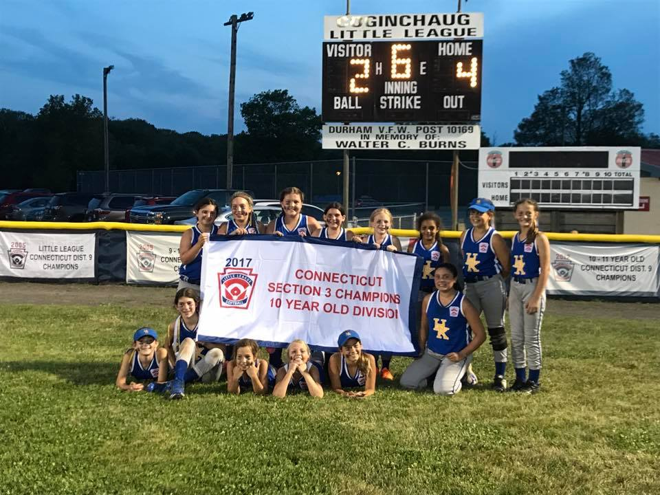 2017 Section 3 Softball Champions!