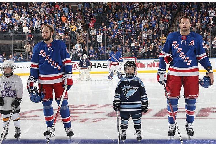 Rangers learn hockey for free