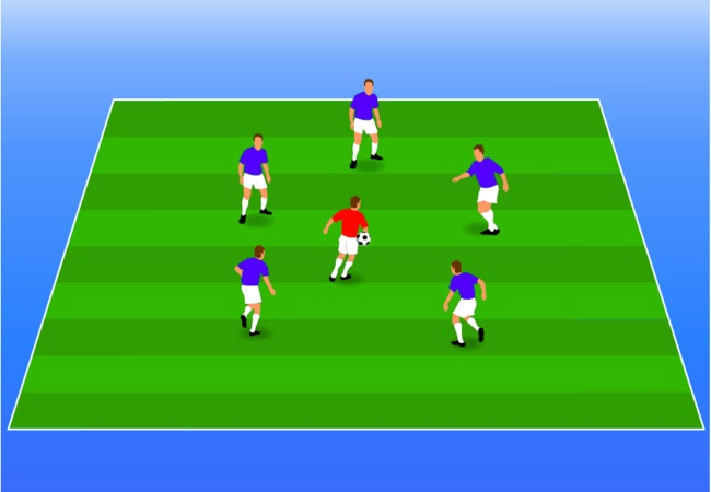 WSA Soccer Drills U8 Plus Head it, Catch it