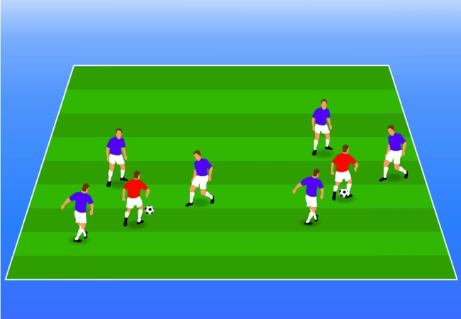 WSA Soccer Drills U5 Keepers Nest