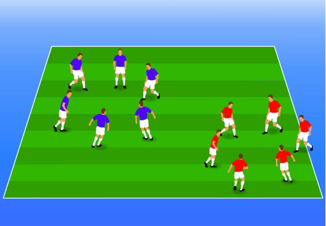 WSA Soccer Drills U5 Plus Knots Game
