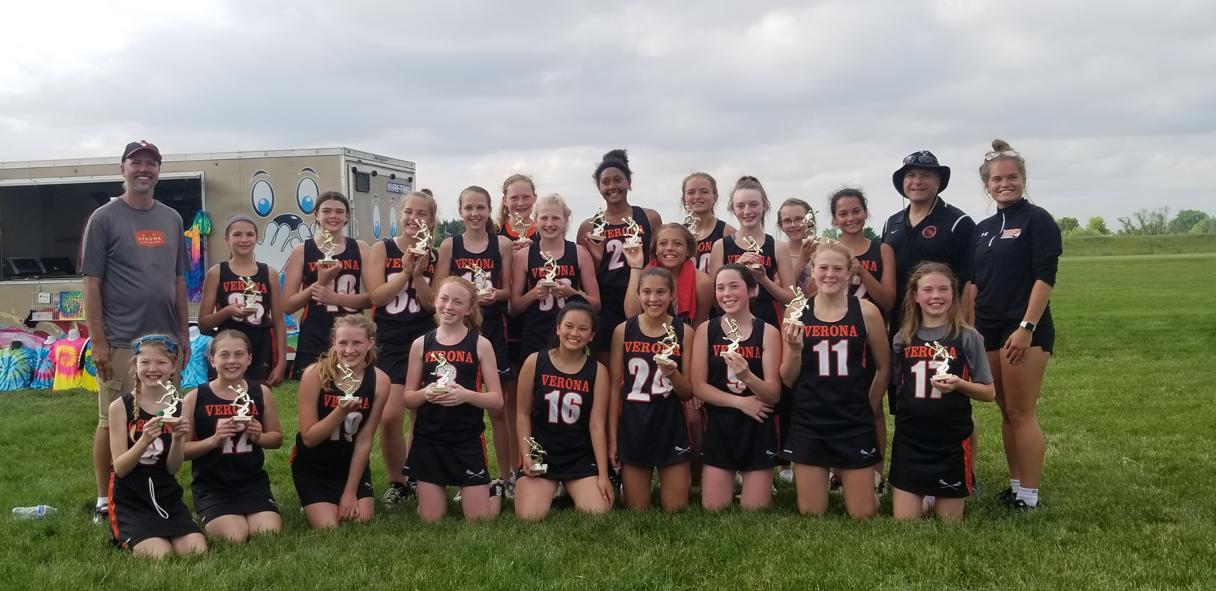2019 Girls G15 Team